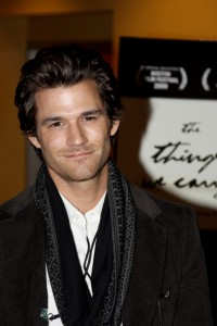 johnny Whitworth at the World Premiere of The Things We Carry