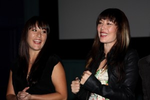 Athena Lobit & Alyssa Lobit at the Q&A